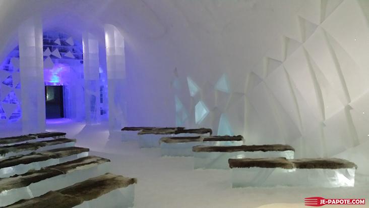 Ice Church Ice Hotel