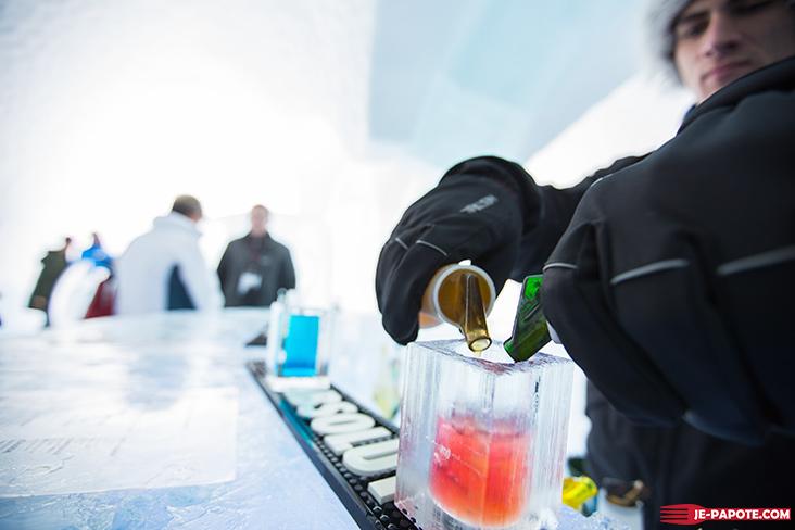 Cocktails Ice Bar Ice Hotel Kiruna