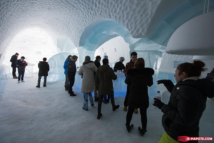 Ice Bar Ice Hotel Kiruna