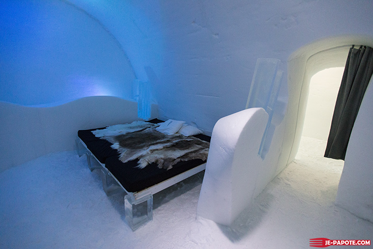 icehotel visite du ice hotel en su de je papote. Black Bedroom Furniture Sets. Home Design Ideas