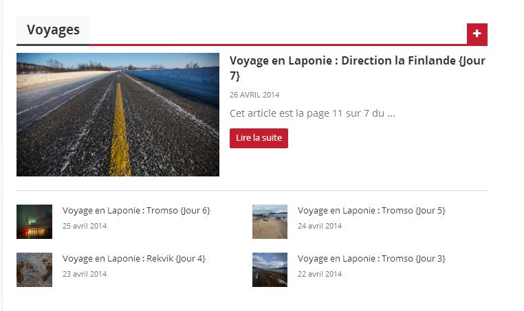 Categorie Voyages