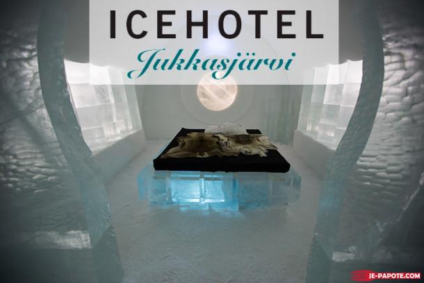 Visite du Ice Hotel de Jukkasjärvi en Suède