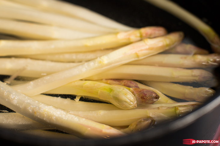 cuisson asperges