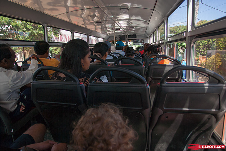 Prendre le bus à l'Ile Maurice