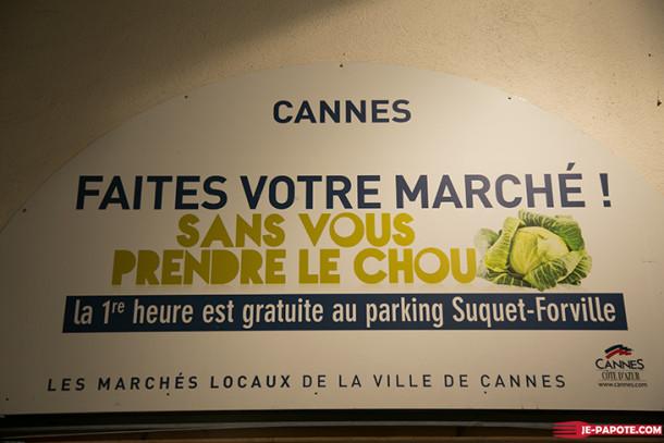 Balade au marché Forville à Cannes