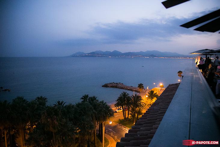 Terrasse du Blu Radisson Cannes