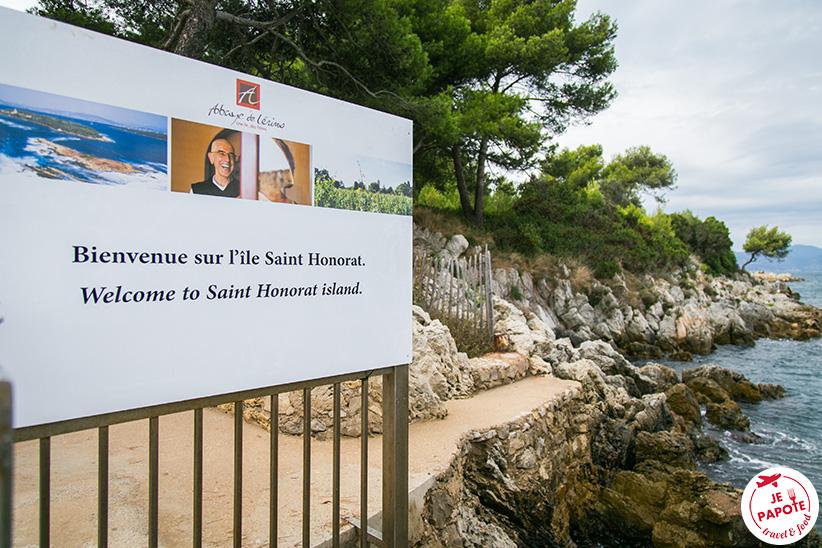 Escapade sur l'Ile Saint Honorat
