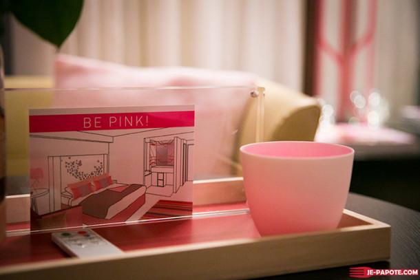 Be Pink avec le Radisson Blu Cannes