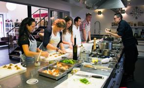 Cours de cuisine chez Les Apprentis Gourmets