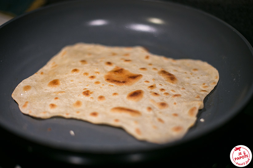 Cuisson Faratas / Rotis