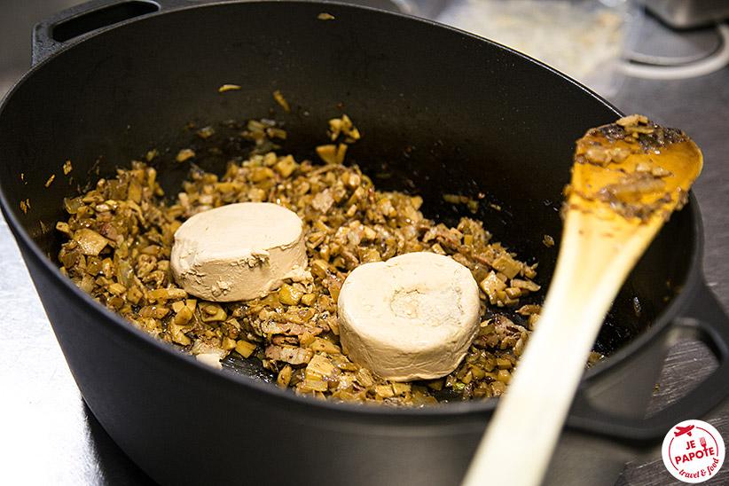 Ravioles de foie gras aux champignons je papote - Preparation du foie gras ...