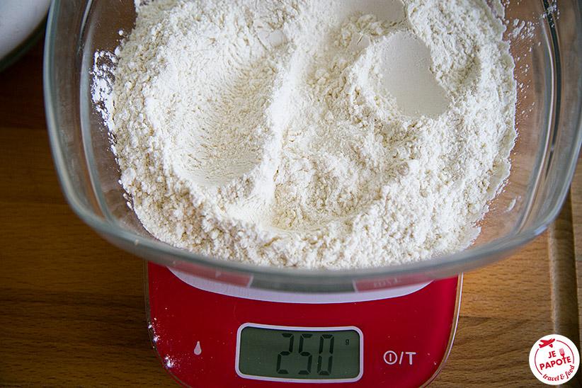 Préparation Faratas / Rotis