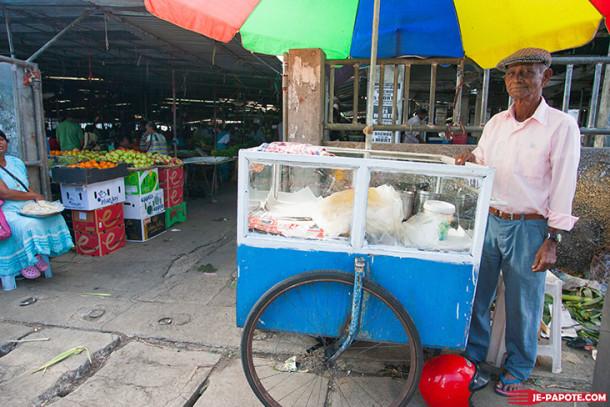Visite du marché de Goodlands à l'Ile Maurice