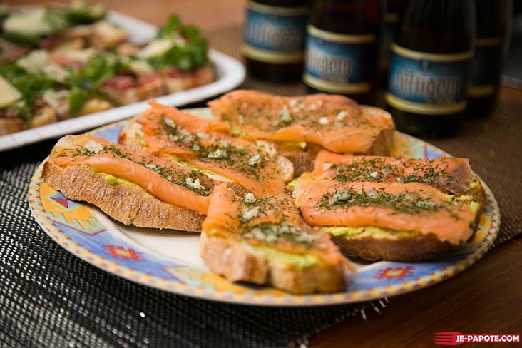 bruschetta-saumon