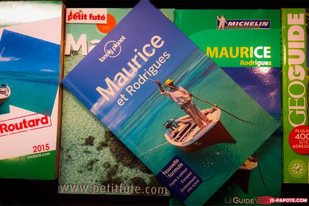 Les guides de voyage pour l'Ile Maurice