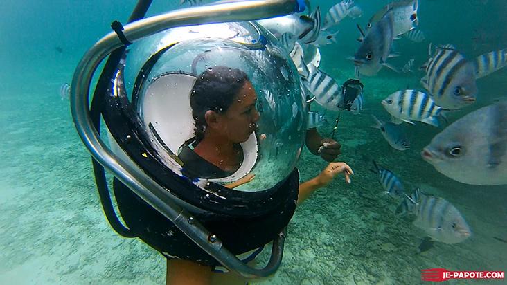 marche sous eau aquaventure