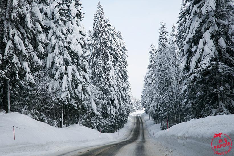 Route Jura Hiver