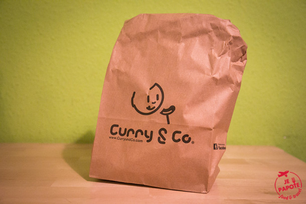 Currywurst chez Curry & Co (Allemagne)