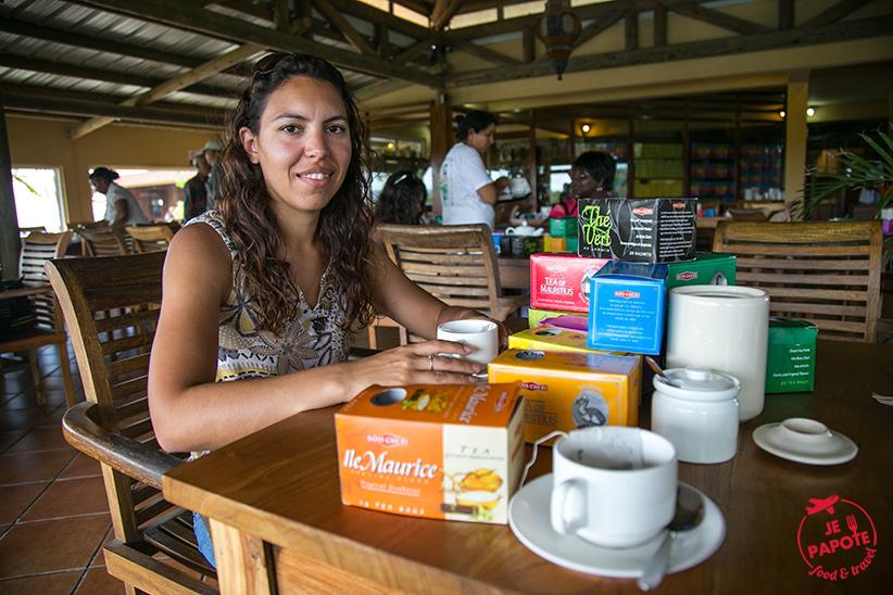 Dégustation des thés Bois Chéri
