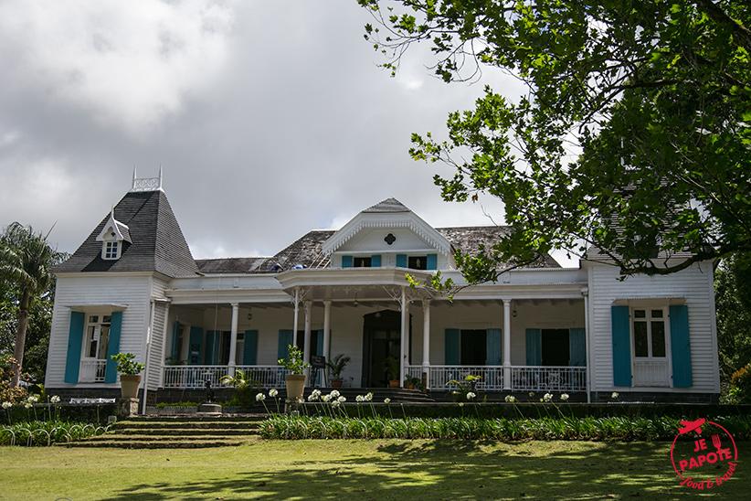 Maison coloniale des Aubineaux