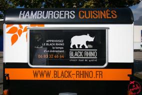 Foodtruck Black Rhino, férocement burger !