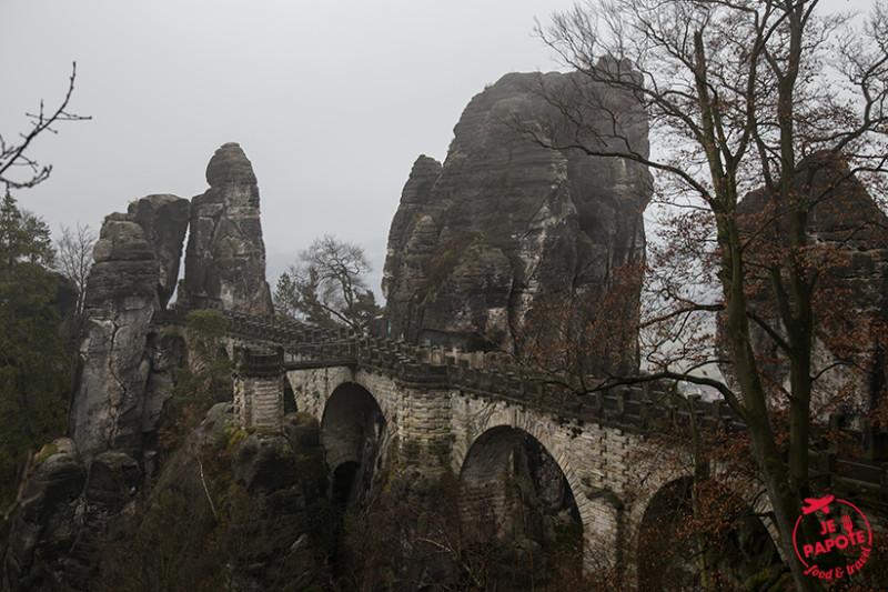 Bastei Bridge Février