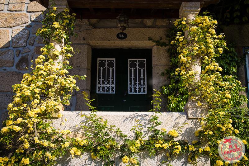 Maison fleurie Ponte de Lima