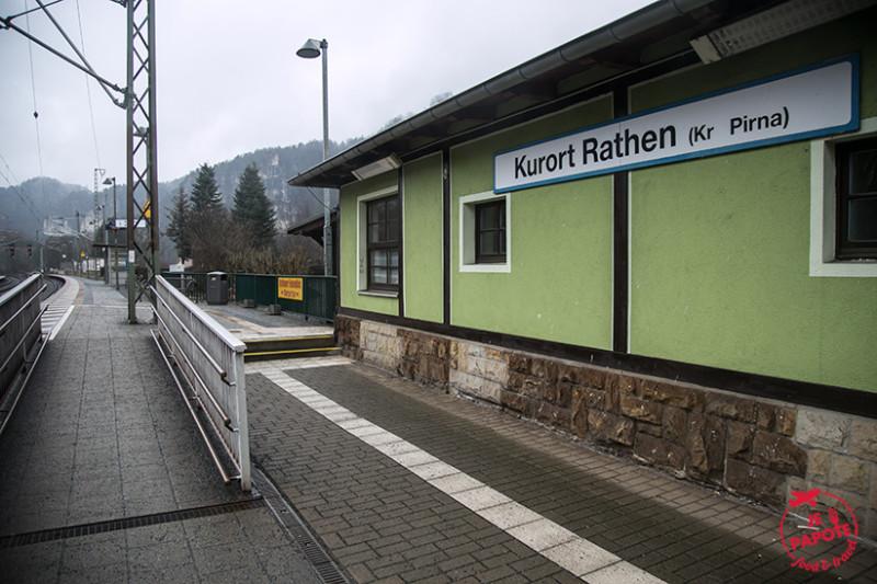 Kurort Rathen Gare Bastei