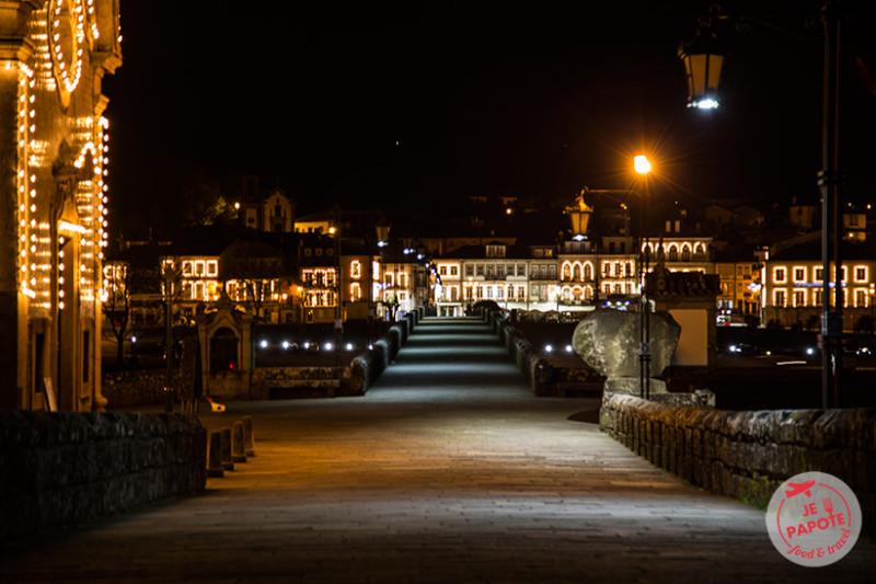 Ponte de Lima de nuit