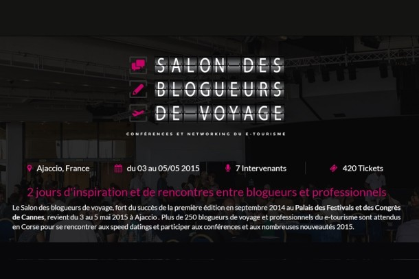 Salon des blogueurs de voyage J-30