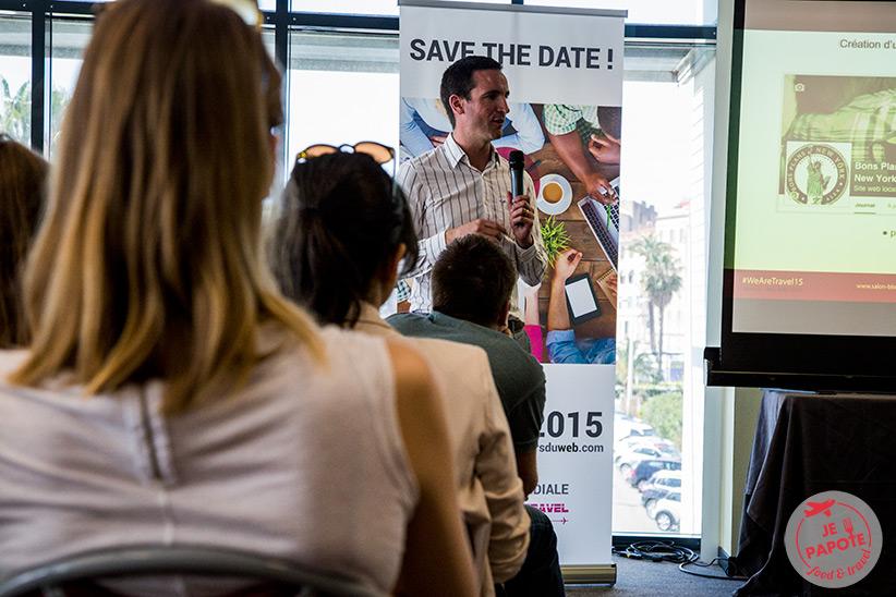 Conférence salon des blogueurs voyage 2015