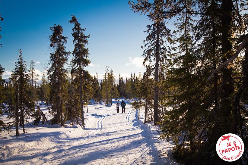 Marche Parc Pallas hiver