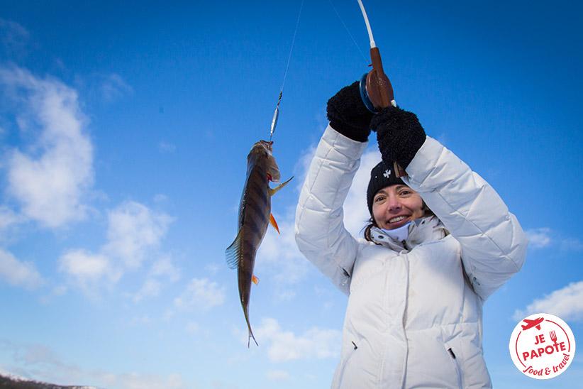 Pêcher en Finlande