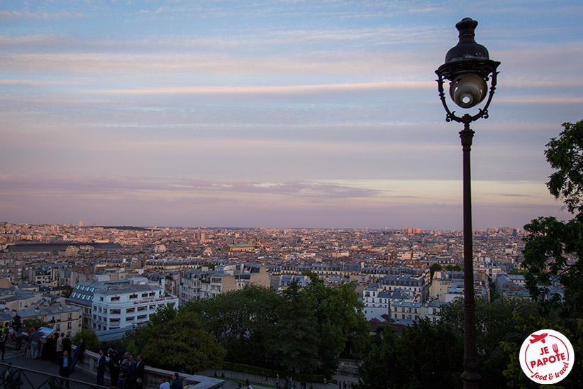 Vue depuis Montmartre