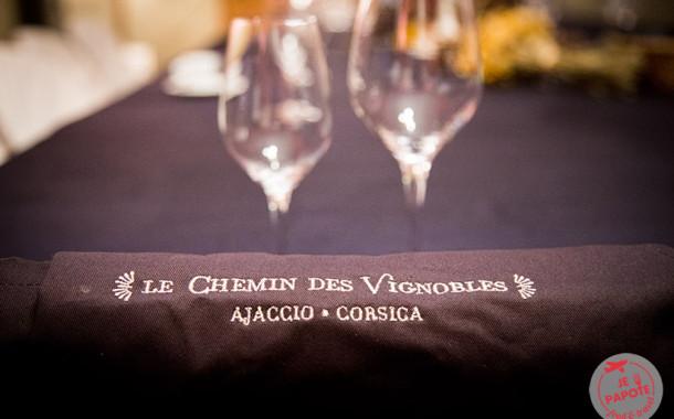 Le Chemin des Vignobles : oenologie et cuisine corse