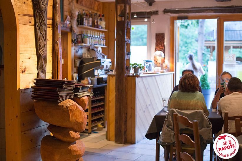 Restaurant La Forge Chateauroux Les Alpes
