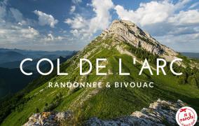 Randonnée et nuit au Col de l'Arc