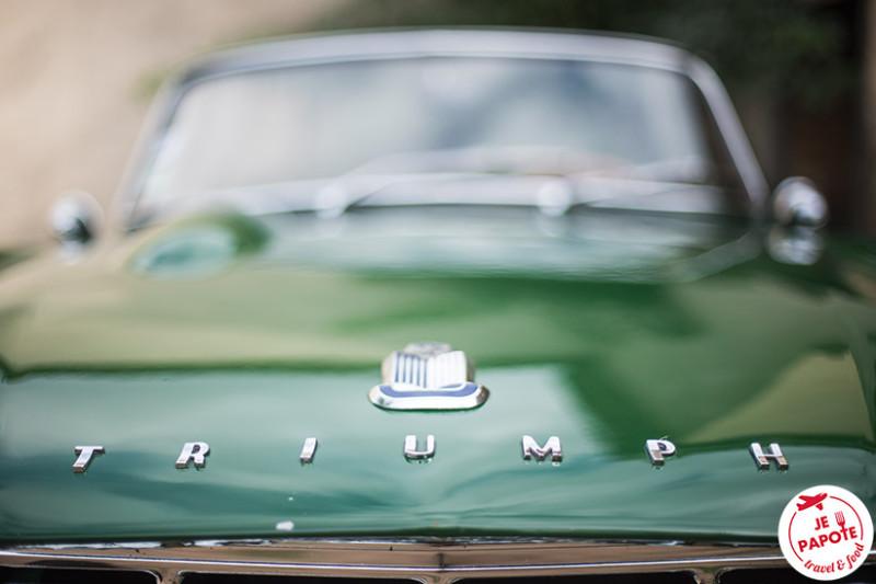 Voiture ancienne Triumph TR4