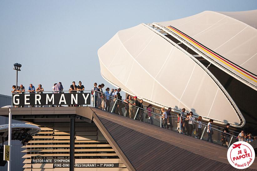 Pavillon de l'Allemagne à l'Expo