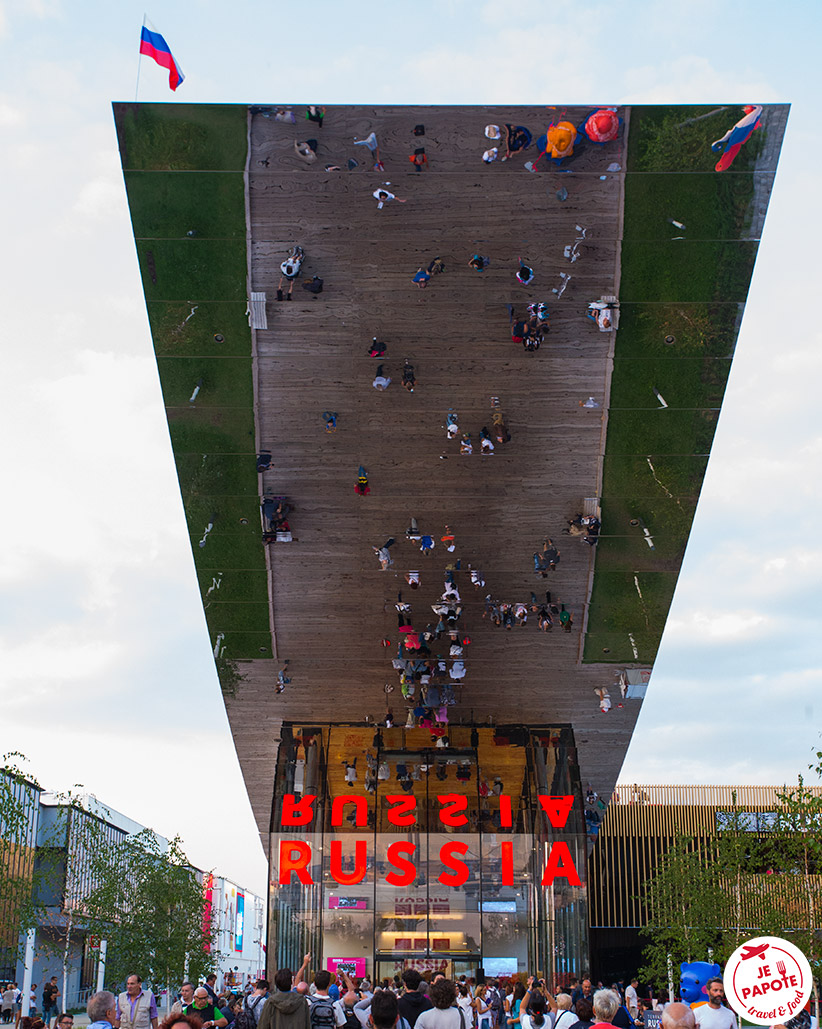 Pavillon Russie à l'Expo