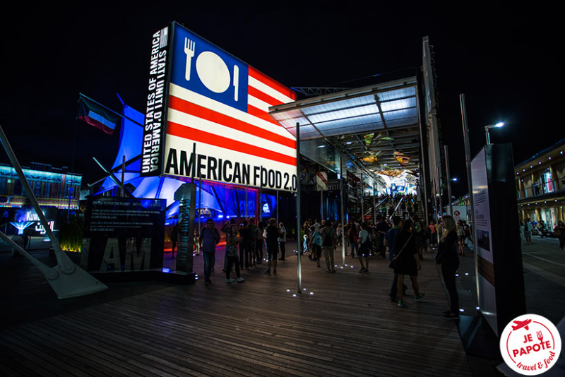 Pavillon Etats Unis à l'Expo