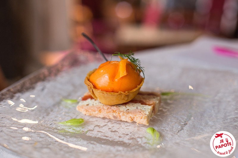 Marbré Saumon et Tomate