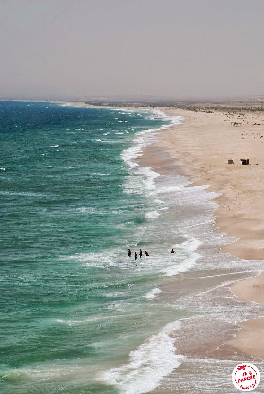 Plage Oman tourisme