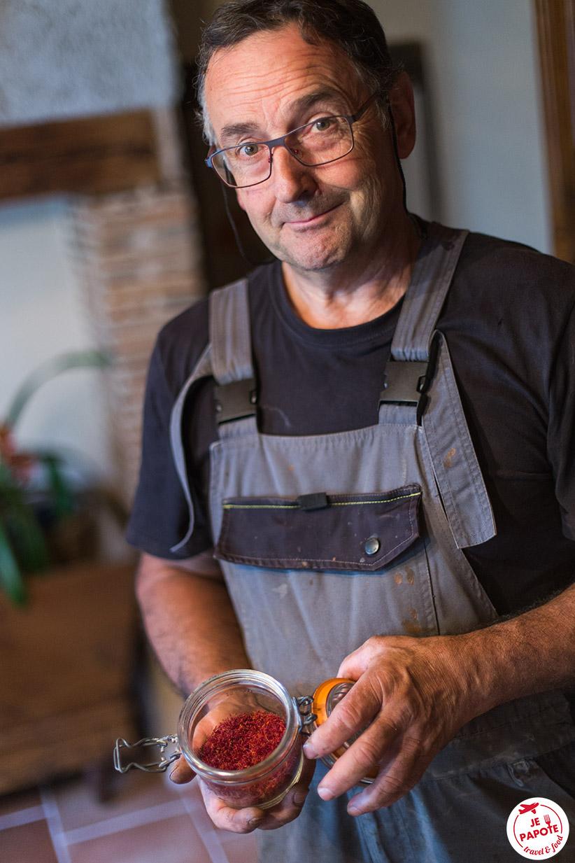 Producteur de safran en Auvergne
