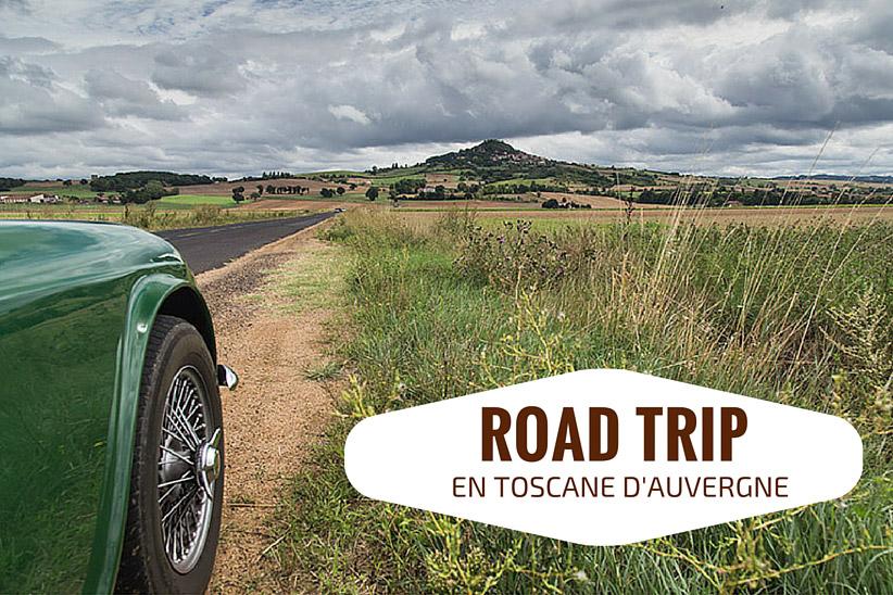 Week-end en Auvergne en voiture ancienne