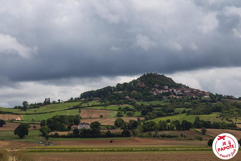 Village Usson Auvergne