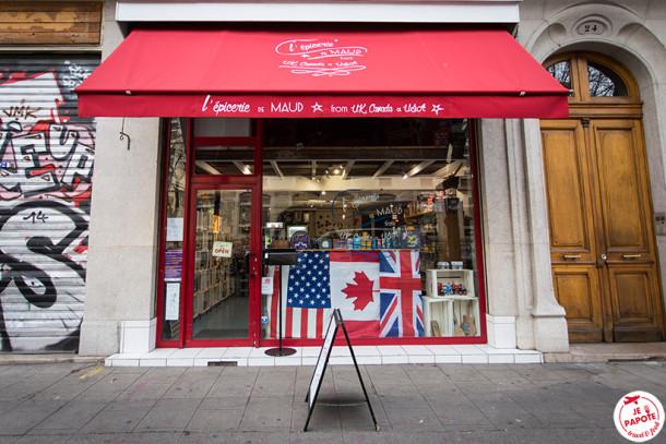 L'épicerie de Maud, l'épicerie américaine, canadienne & anglaise