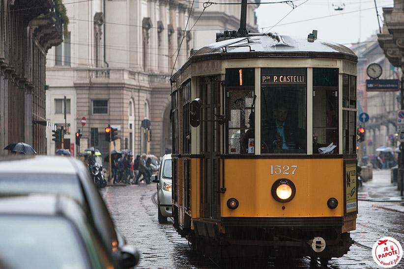 Tramway Milan