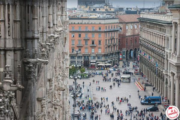 Vue depuis le Duomo