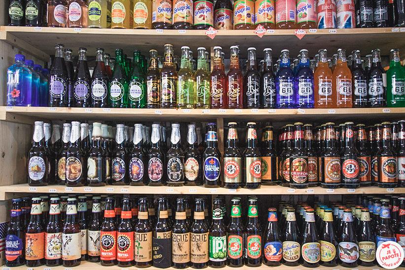 Bières anglaises, américaines et canadiennes